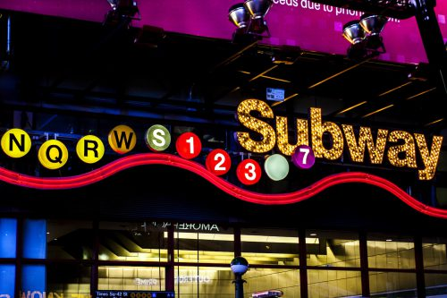 ID 2102 – Subway in Time Square