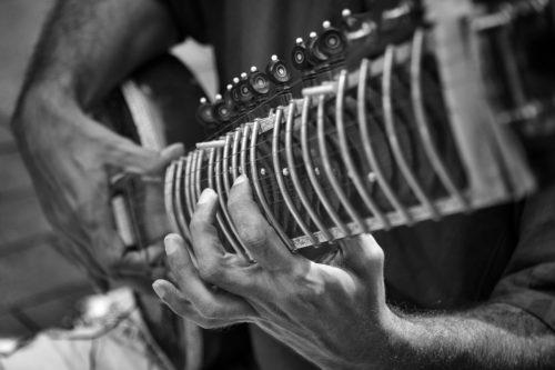 ID D17 2253 – Indian guitar