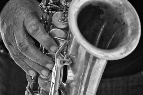 ID D17 2257 – Street saxophonist