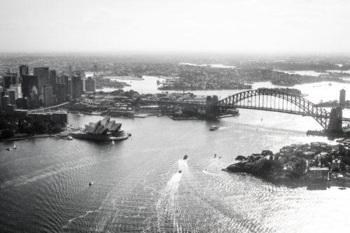 ID D17 2328 – Sydney vue du ciel
