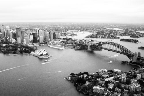 ID D17 2357 – Sydney en noir et blanc