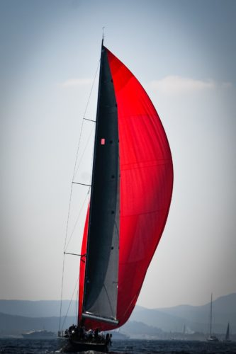 ID D17 2418 – Voile rouge