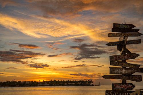 ID D17 2538 – Key West Coucher de soleil
