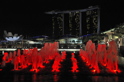 ID D18 1006 – Red Fountain, Singapore