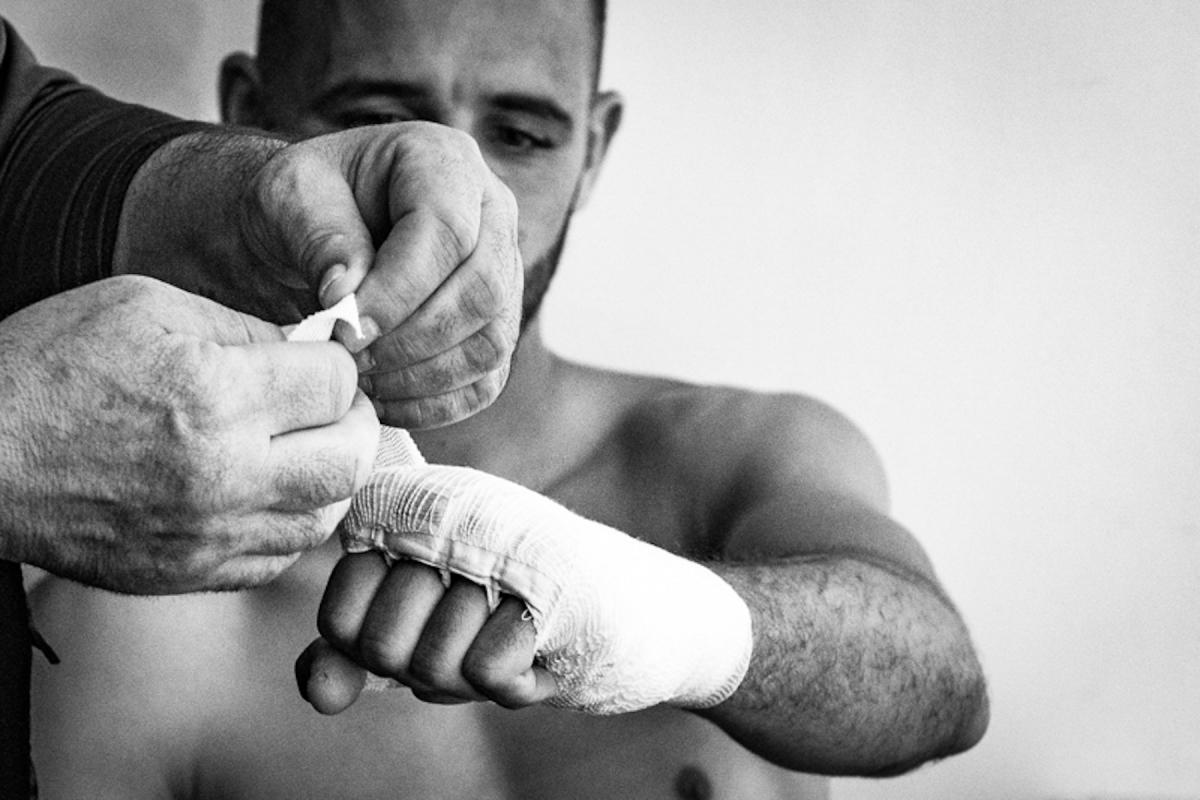 Virginie Cressot ID 2382 – Boxeur – l'instant