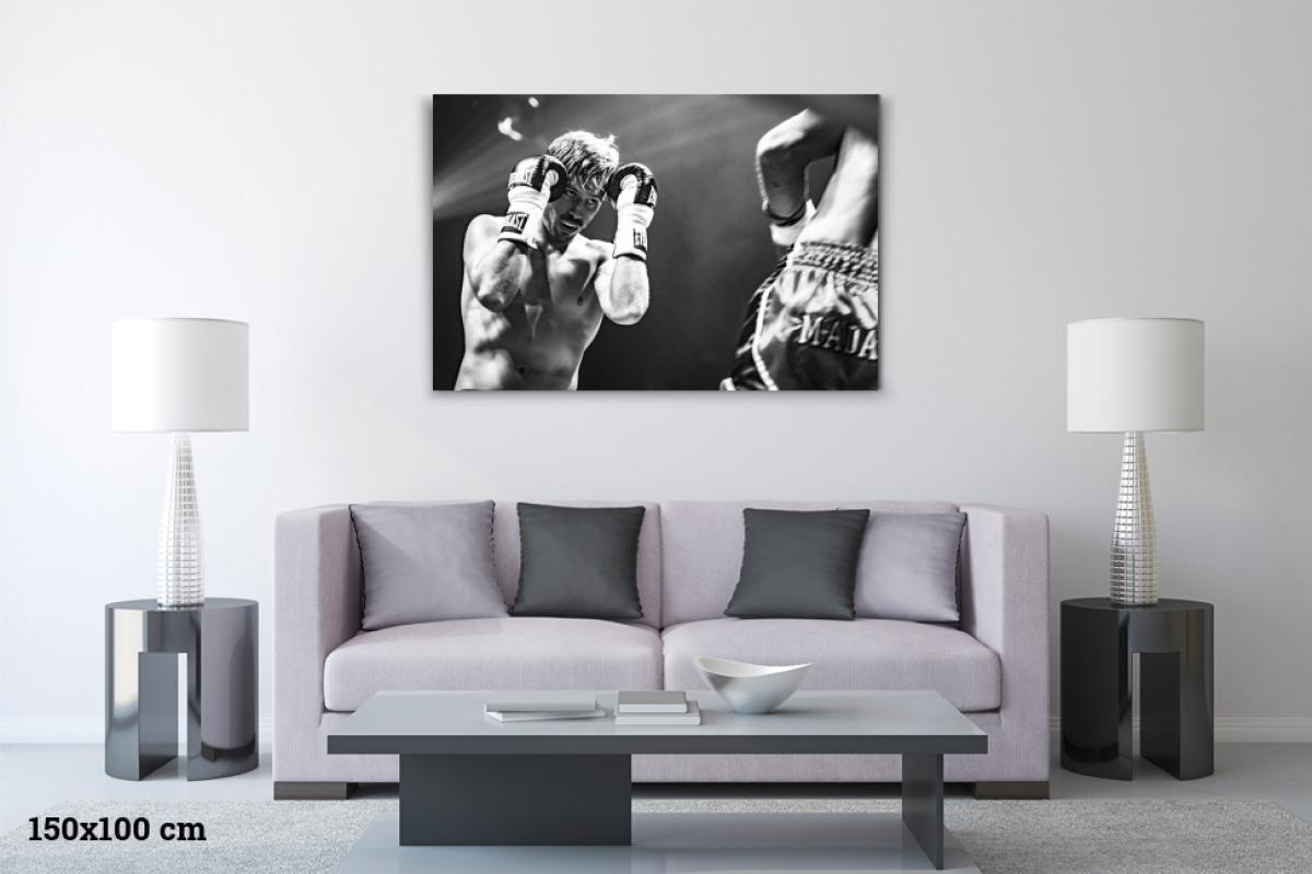 Virginie Cressot ID 2383 –Boxeur – le combat