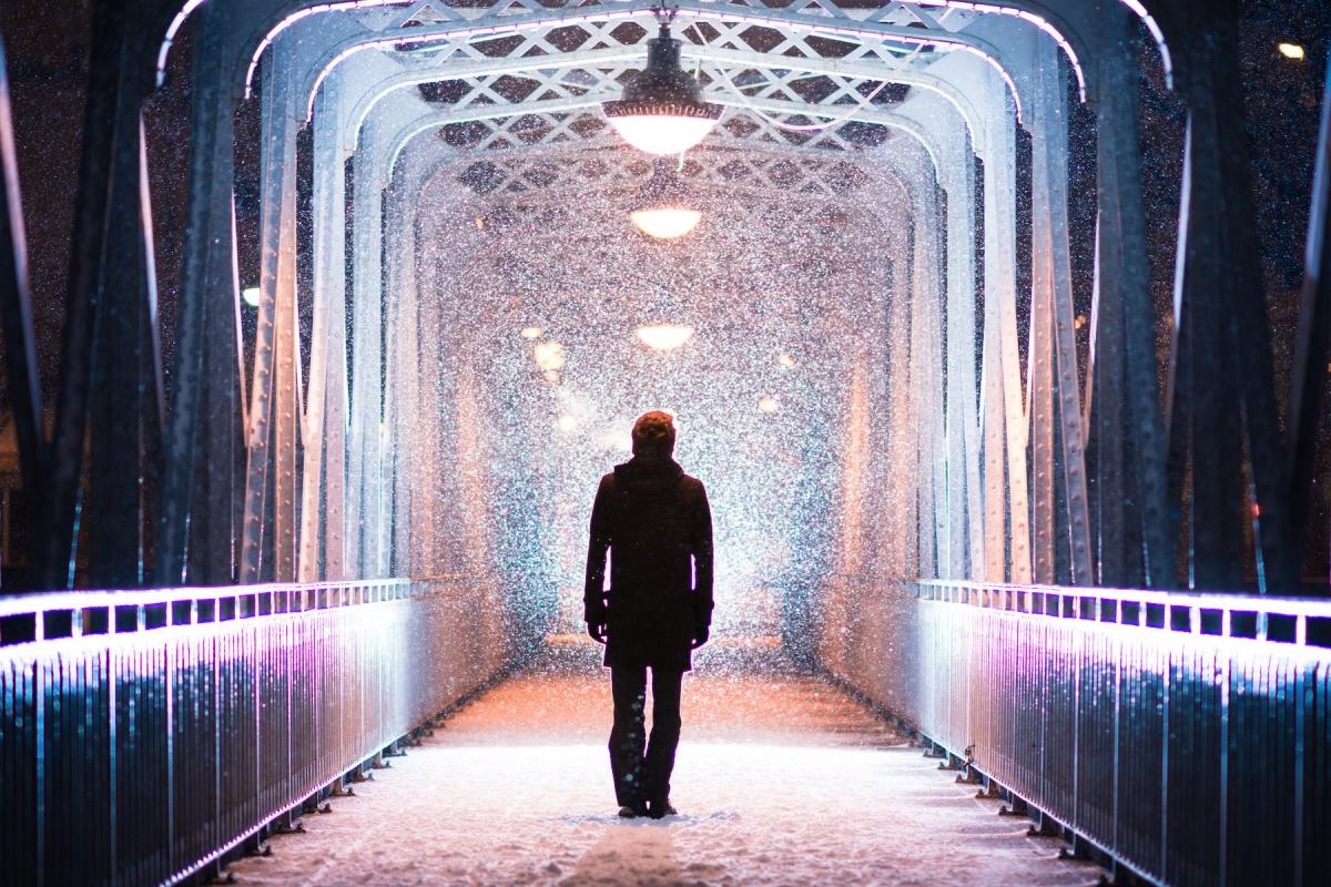 Damien Bapst ID 2156 – L'homme sous la neige
