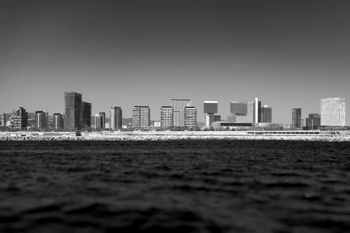 Frederic Ducos ID D17 2238 – Barcelona from the sea