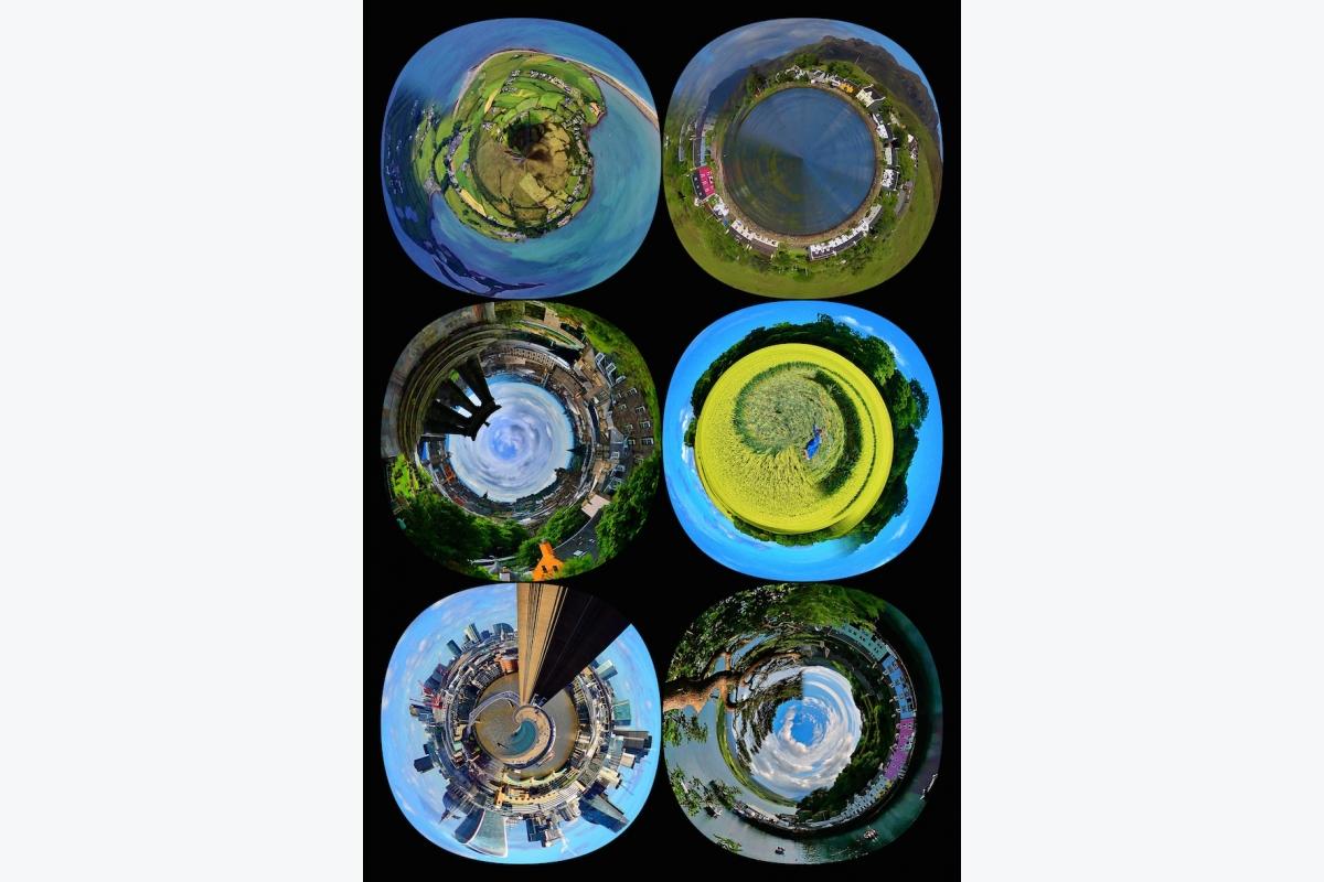 David Mercier ID D17 2496 – Tiny world blue